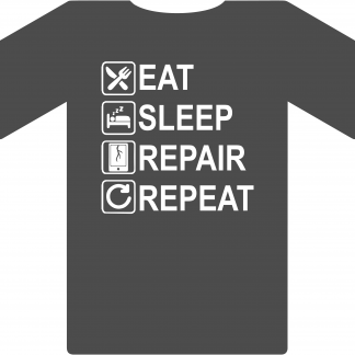 Eat Sleep Repair Repeat - Cell Phone
