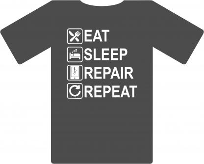 Eat Sleep Repair Repeat - Cell Phone
